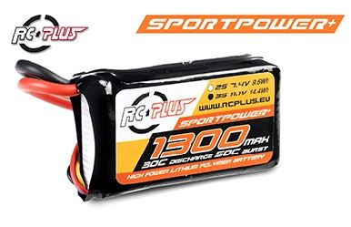 Battery  1300Mah 11,1V 30CRC plus sport power